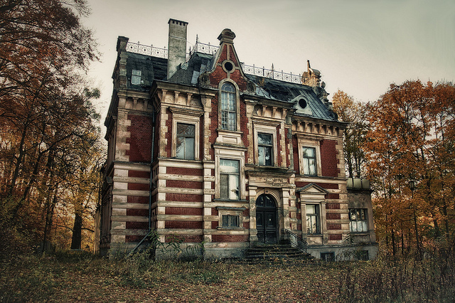 Gdansk haunted manor